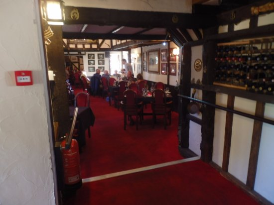 Ivybridge, UK: Part of restaurant