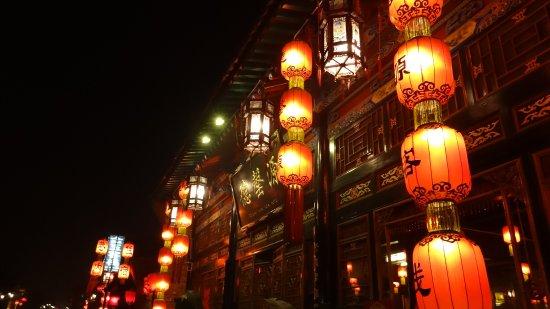 Pingyao County, Chine : Pingyao by night