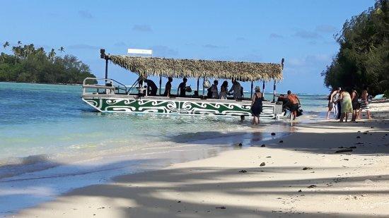 Muri, Ilhas Cook: Klar til avgang