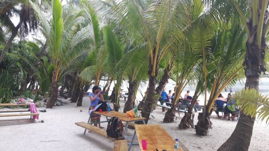 Muri, Ilhas Cook: Lunsj