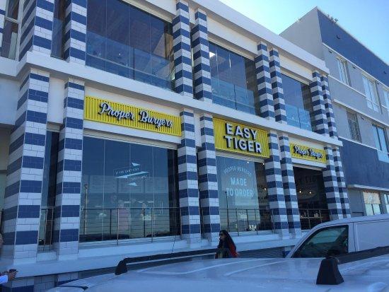 Muizenberg, Sydafrika: Easy delicious burgers