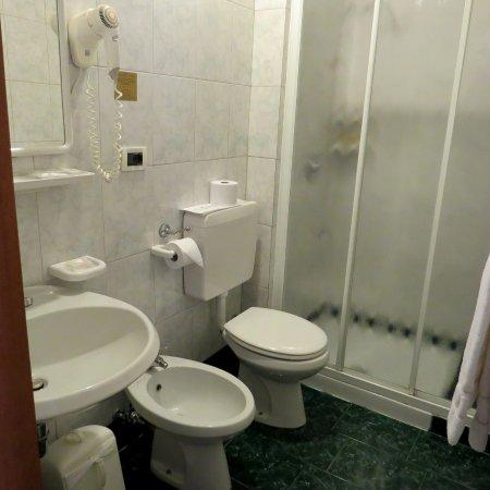 Hotel Wildner: Badezimmer  in Zimmer 38