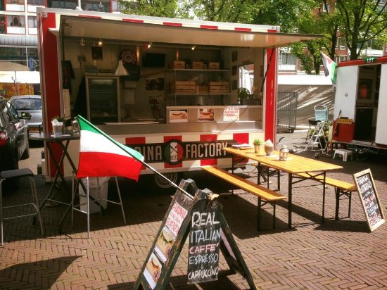 Piadina Factory Our Food Truck At Waterlooplein