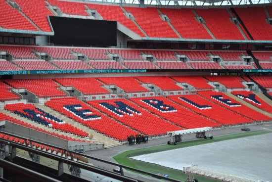 Wembley, UK: One of the great views