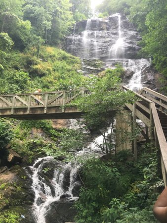 Amicalola Falls State Park: Amazing hike and beautiful scenery!