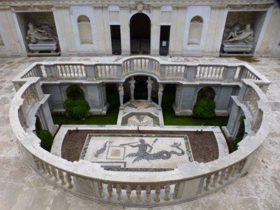 Museo Nazionale Etrusco di Villa Giulia : Hinterer Hof