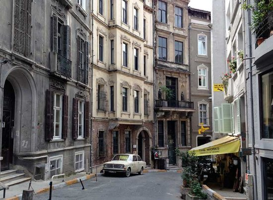 Istiklal street with tramway picture of beyoglu for Galata 1875 suites