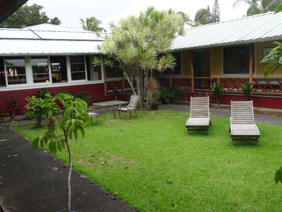Hawi, Hawái: Inside Courtyard