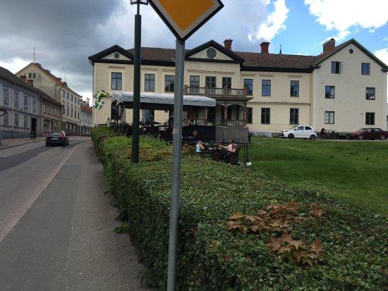 Hjo, Szwecja: Trevligt ställe med trevlig personal och gott fika.