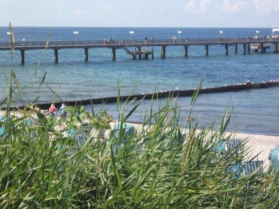 Bad Doberan, Jerman: Pier at Kühlungsborn Ost.