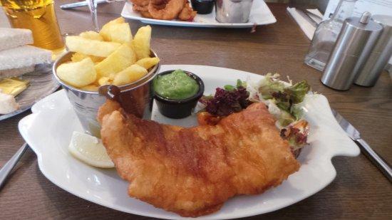 Cushendall, UK: the fish dish caught that morning