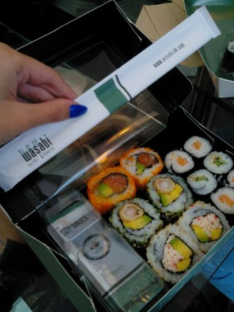 wasabi sushi and bento: Spettacolare!!