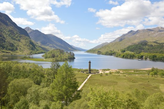 Buchlyvie, UK: Glenfinnan monument