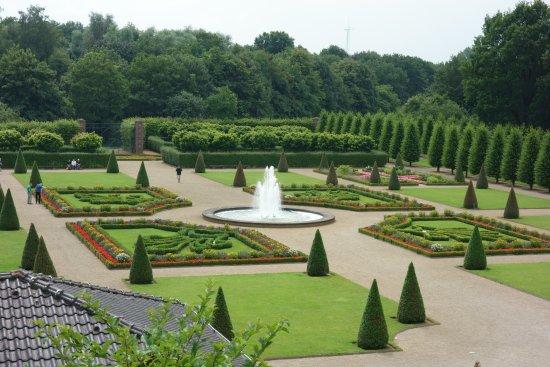 Kamp-Lintfort, Almanya: barocke Terrassengarten
