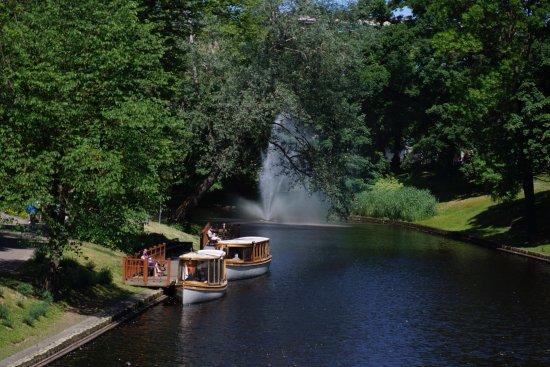 Vermanes Park in Riga.
