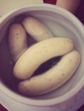 Cafe Westend: Munich Breakfast sausages (boiled)