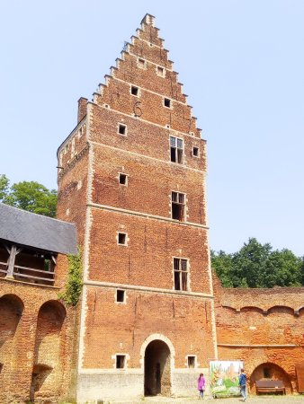 Flemish Brabant Province, Bélgica: Main keep, dated 1617