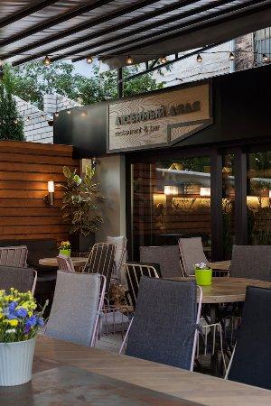 TERRACE, INTERIOR, LYUBIMY DYADYA restaurant & bar