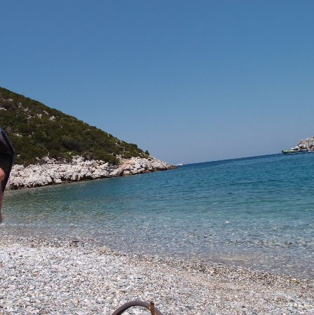 Glisteri Beach: Not worth the effort to get here.