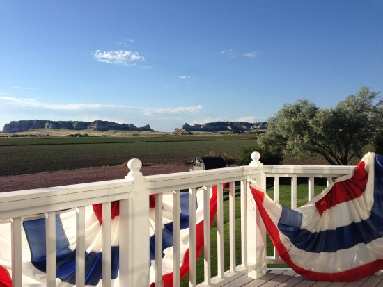 Scottsbluff, NE: View from the balcony