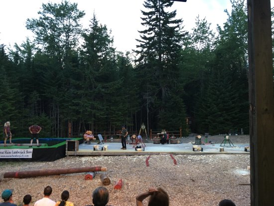 Timber Tina's Great Maine Lumberjack Show