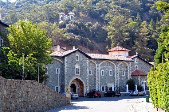 Pedoulas, Chipre: монастырь Киккос