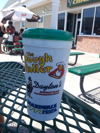 Dough Roller: Souvenir cup can be refilled for $1.50