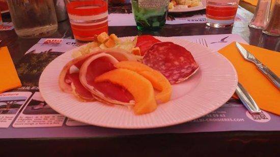 Rivieres, Frankrike: salade du chef