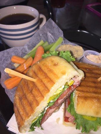 Verona, VA: The Italian Special.......salami, ham, provolone, lettuce, tomato, banana peppers, mayo...