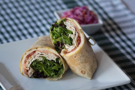 medea s real food cafe protein power turkey wrap