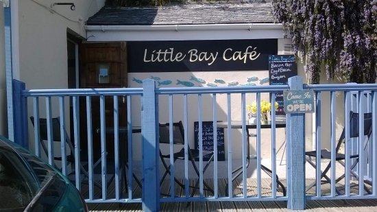 Pentewan, UK: Little Bay Cafe