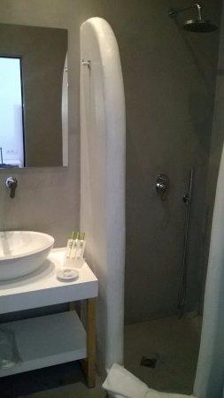 Pyrgos, Grækenland: Bathroom