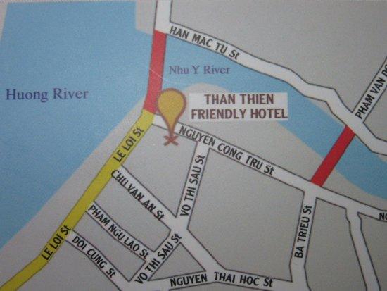 Than Thien Hotel - Friendly Hotel: Business Card