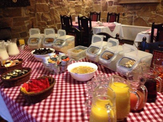 Kirkbymoorside, UK: Breakfast buffet