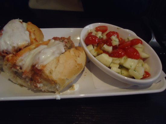 Arden, Carolina del Norte: Meatball sandwich
