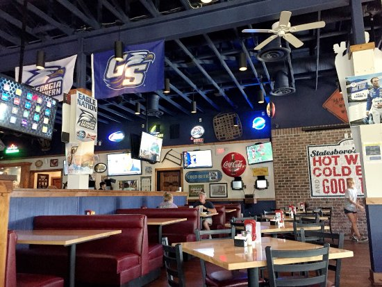 Statesboros Location Of The Regional Chain Picture Of Wild Wing