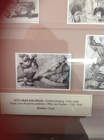 vilnius picture gallery playing cards from the early 19th century