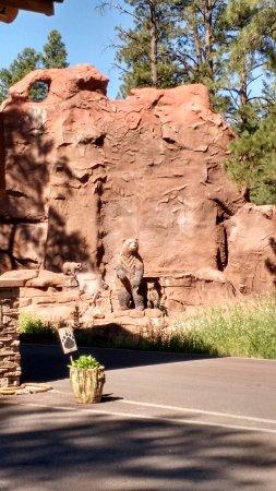 Williams, AZ: Entrance