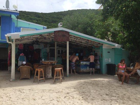 West End, Tortola: Soggy Dollar Bar!