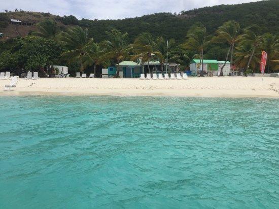 West End, Tortola: View of White Bay on Jost Van Dyke!
