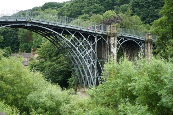i visited Ironbridge for this monument fantastic piece of engineering.