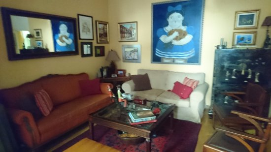 BarcelonaBB: Living room