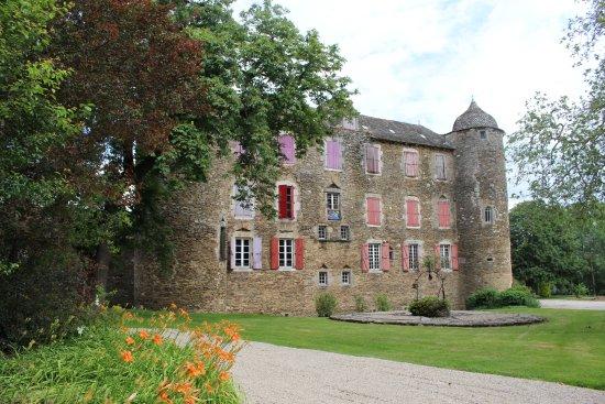 Chateau du Bosc: Impressive exterior of the chteau