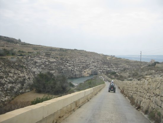 Xewkija, Malta: Breathe in if you're driving anything larger than a quad