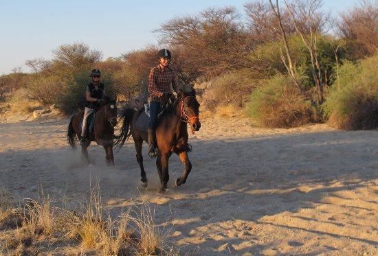 Karibib, Namibia: activities: horse riding, hiking trails and scenic drives