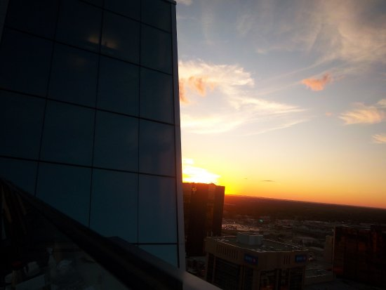 20TEN City Eatery: A Beautiful Prairie Sunset From The Roof Top Patio Of  20TEN .