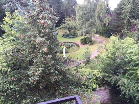 Bad Bevensen, Tyskland: Kleiner gepflegter Park...