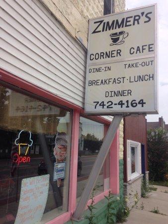 Hillman, ميتشجان: Zimmer's Corner Cafe