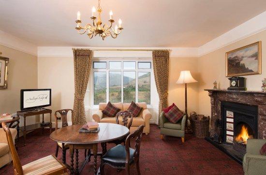 Leenane, Ιρλανδία: Upstairs Lounge