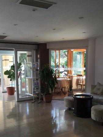 Mountain View Hotel & Villas: Reception
